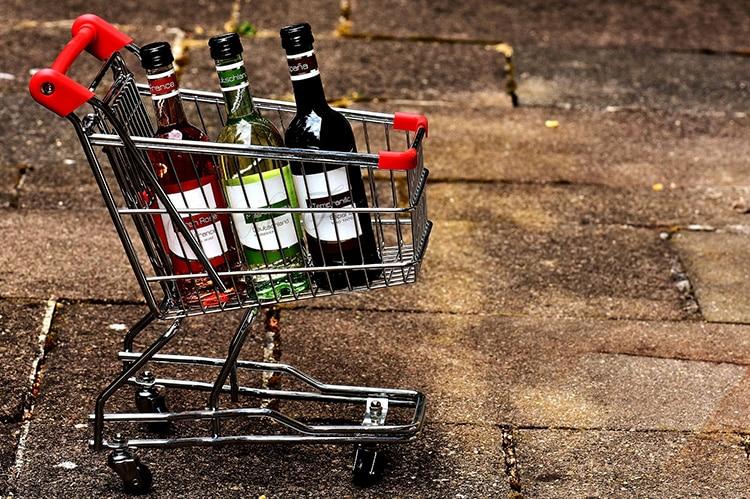 Achats de vins