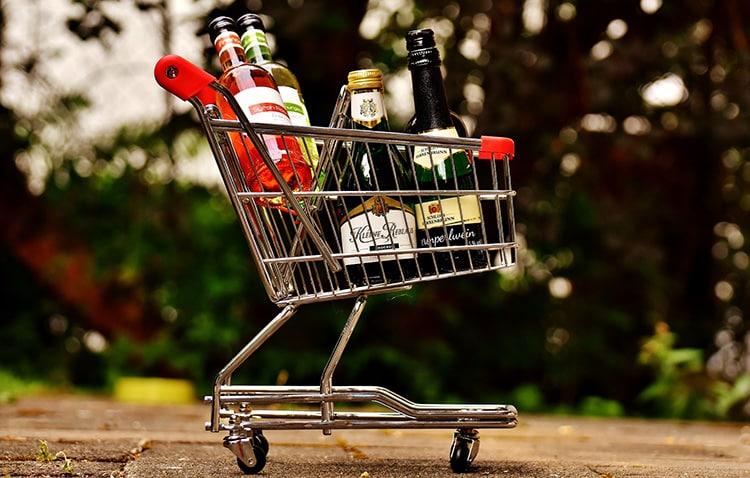 achat de vin
