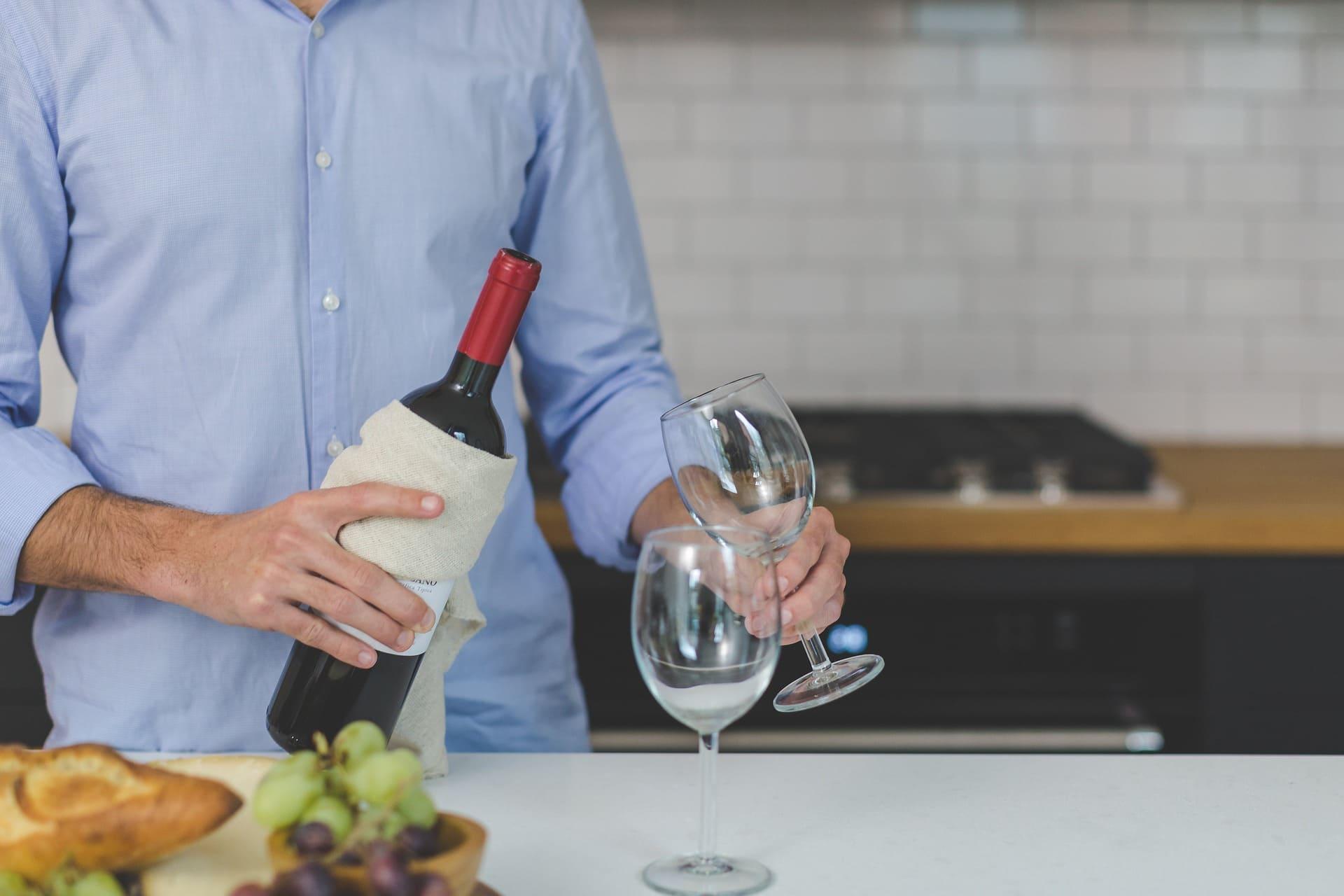 Servir du vin