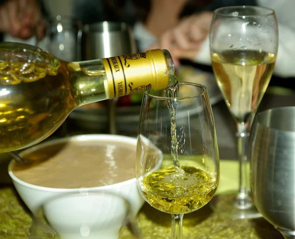 Vin blanc de Bordeaux